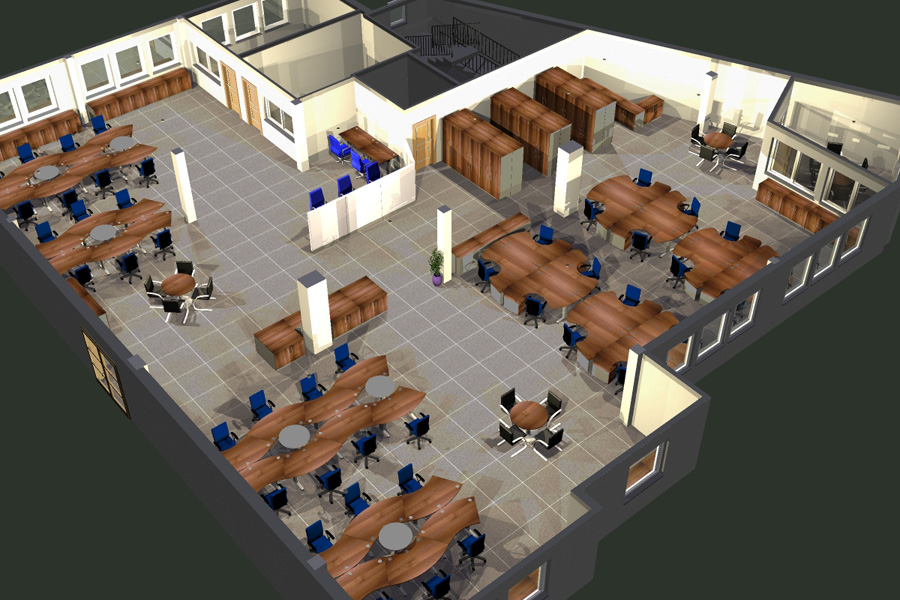 Free Work Space Planning Design Corporate Interiors