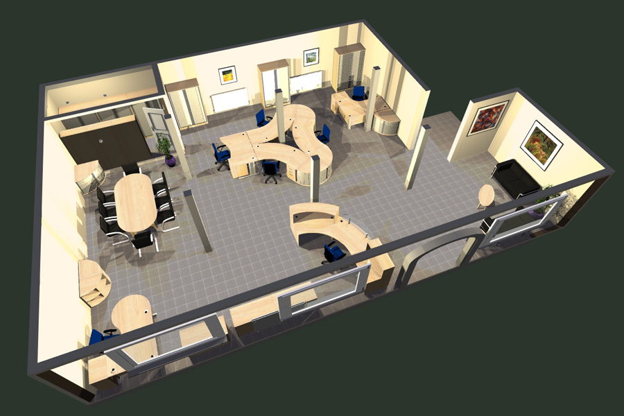 Simple Office Layout Fixes To Strengthen Office ... |Space Planning Office Layout