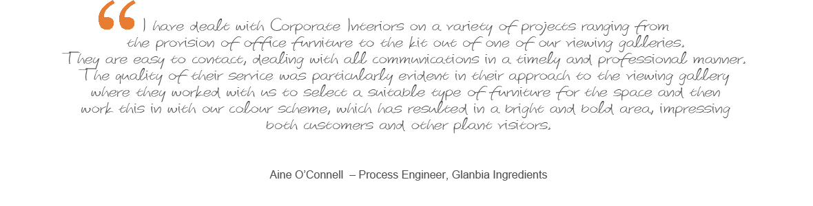 View More Testimonials - Glanbia Ingredients Testimonial