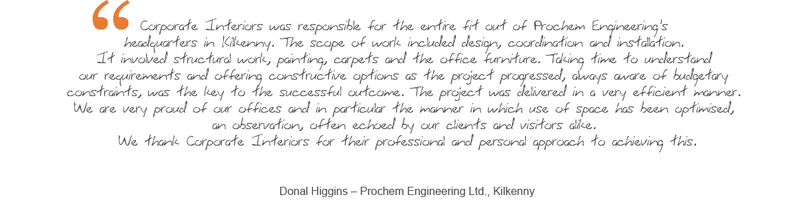 View More Testimonials - Prochem Engineering Testimonial